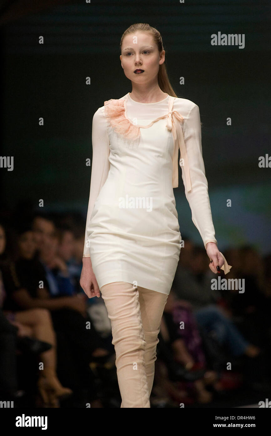Mar 19, 2009 - Toronto, Ontario, Canada - Designers on the runway for NADA during Loreal Fashion Week 2009, Fall/Winter Stock Photo