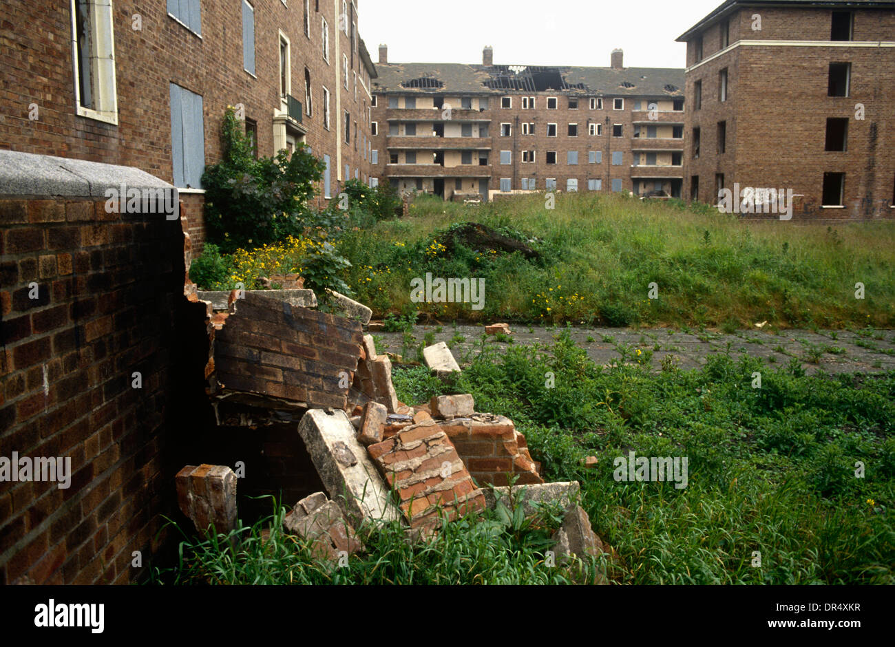 A Low Wide Landscape Of Dereliction And Poverty On A
