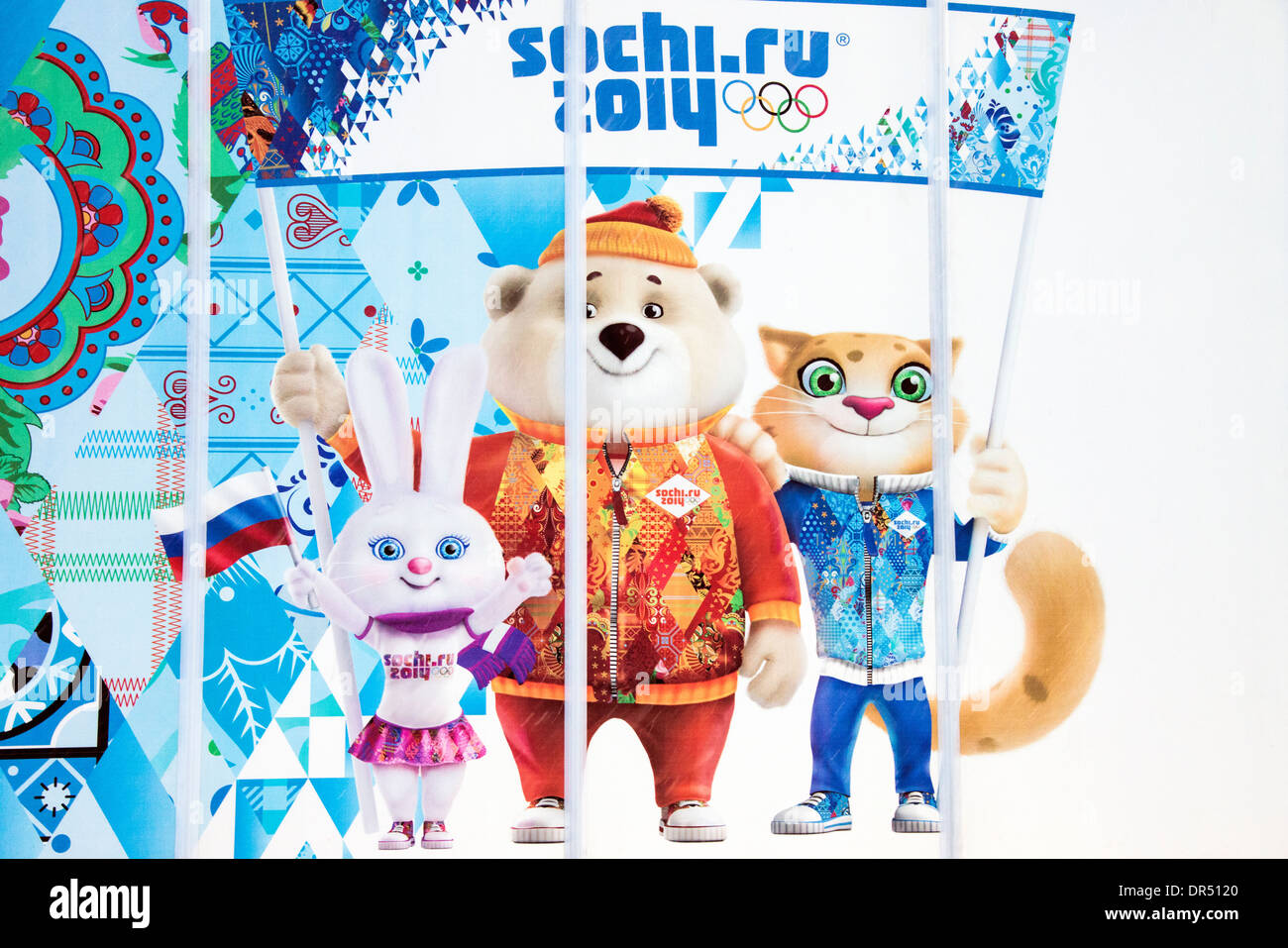 Sochi Winter Olympic Games 2014, Russia - Stock Image