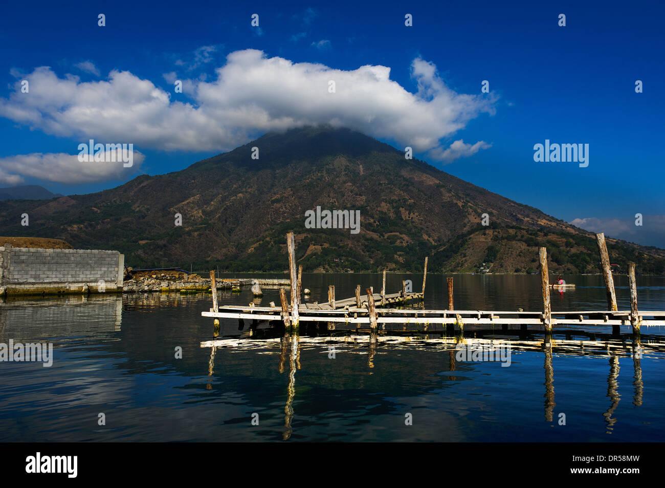 San Pedro volcano, Guatemala - Stock Image