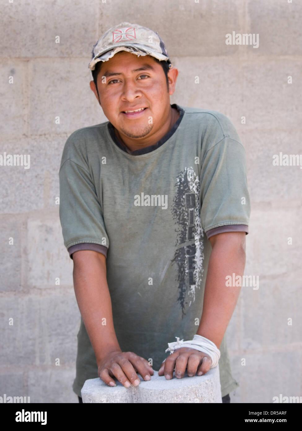 Mar 29, 2009 - Santiago Atitlan, Solola, Guatemala - Workers in santiago Atitlan, Solola, Guatemala (Credit Image: © David H. Wells/ZUMAPRESS.com) - Stock Image