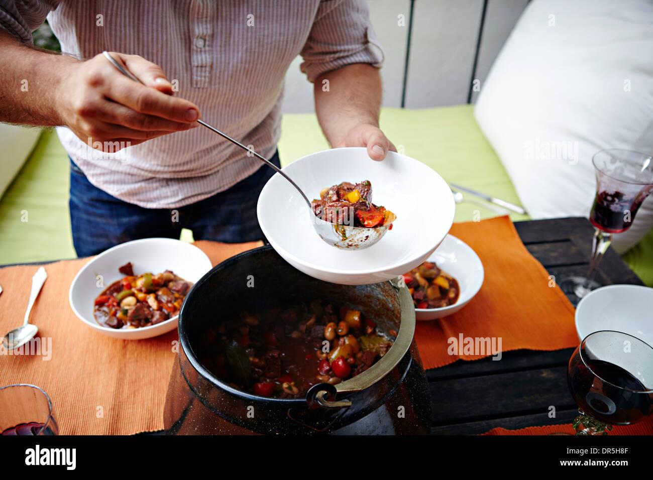 Goulash Stew - Stock Image