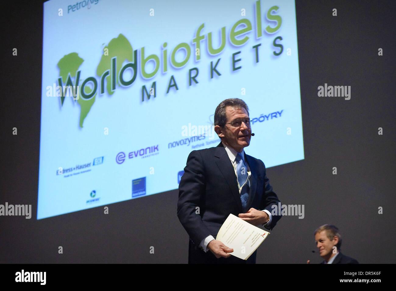 Mar 17, 2009 - Brussels, Belgium - Former BP CEO, LORD BROWNE during World Biofuels Markets Congress. (Credit Image: © Wiktor Dabkowski/ZUMA Press) - Stock Image