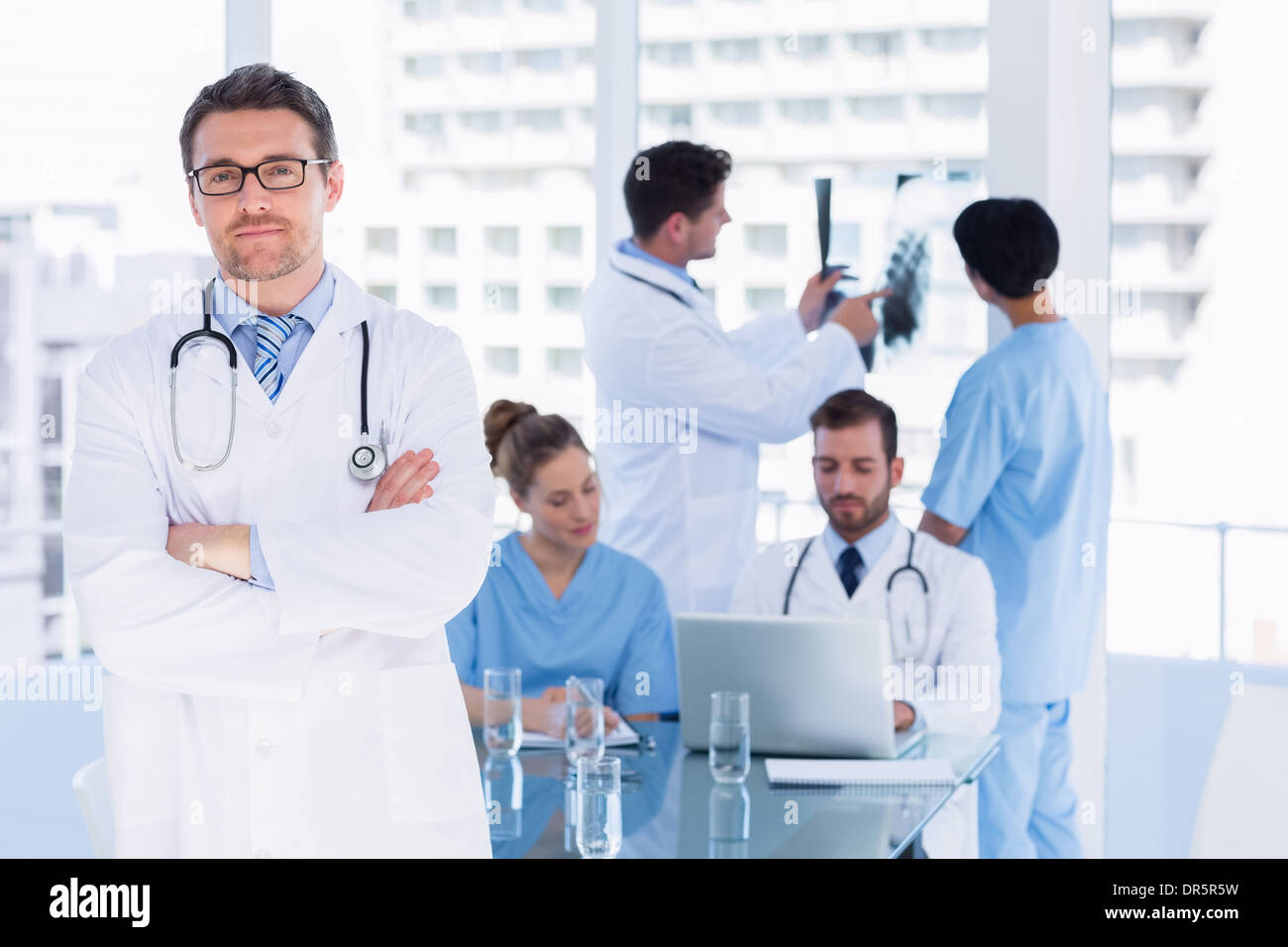 Medical Team With Male And Female Doctors Stock Photos Medical