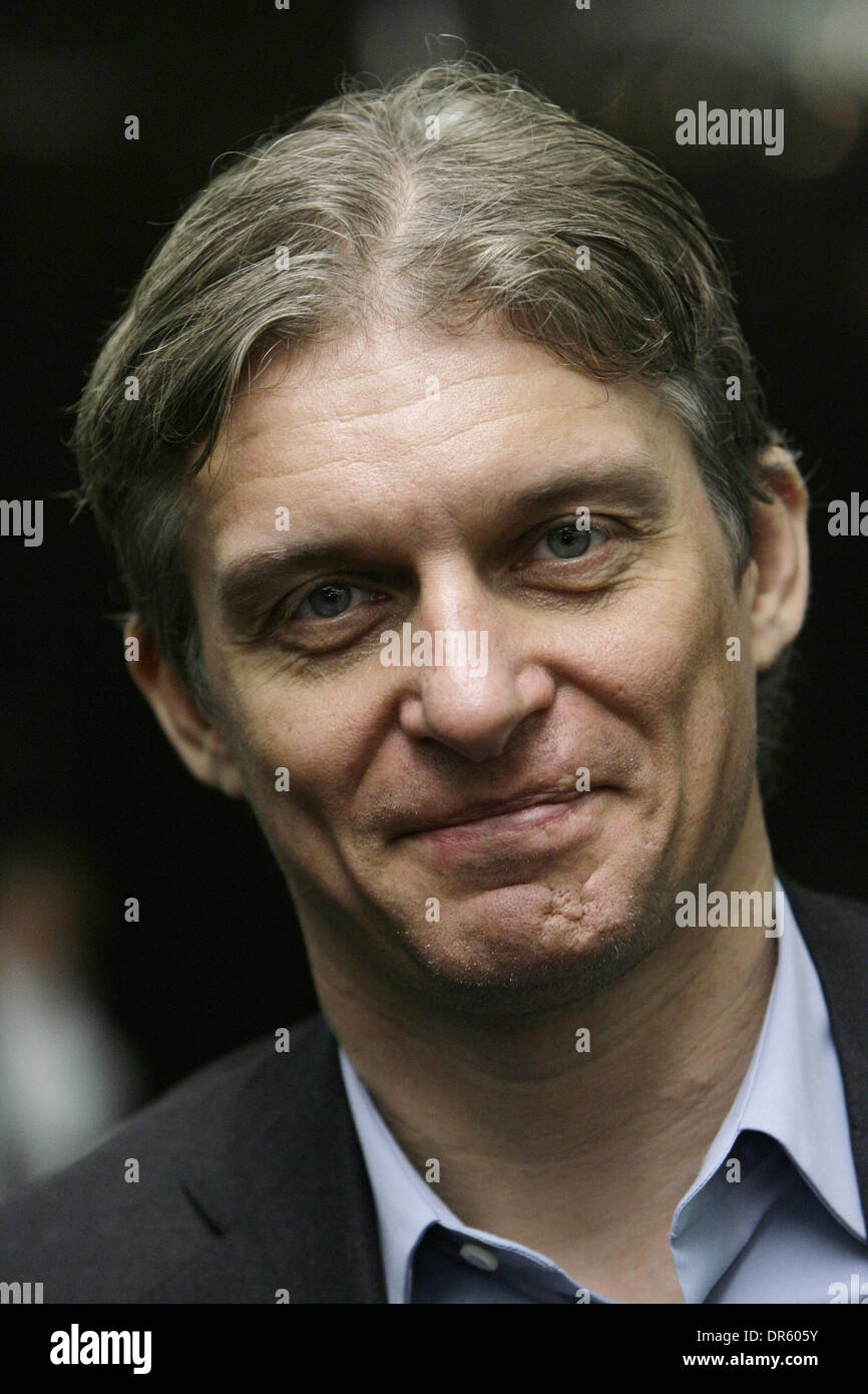Mar 02, 2009 - Moscow, Russia - Russian businessman OLEG TINKOV at the Global Investment and Finance Forum in Moscow which brought together Russian and international corporates, investment bankers, investors and other leading representatives from the world of finance. (Credit Image: © PhotoXpress/ZUMA Press) RESTRICTIONS: * North and South America Rights Only * - Stock Image