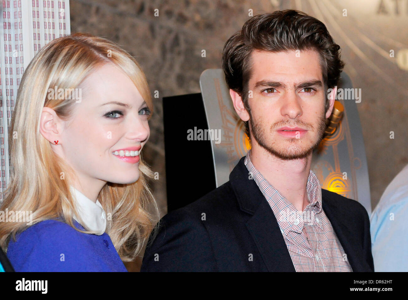 Emma Stone and Andrew Garfield The cast of 'The Amazing