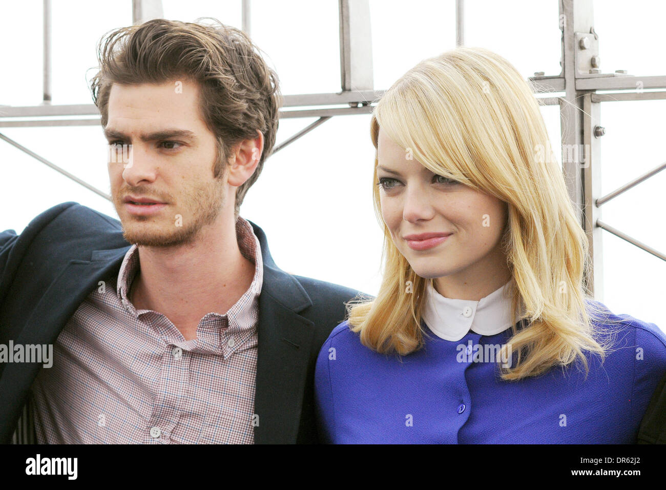 Andrew Garfield and Emma Stone The cast of 'The Amazing