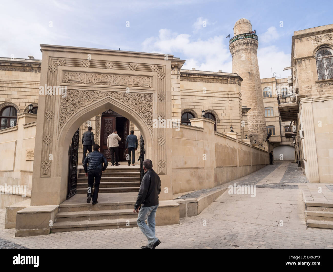 Icheri Sheher (Old Town) of Baku, Azerbaijan. - Stock Image