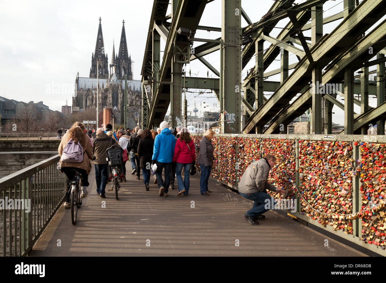 Locks Bridge Germany Stock Photos & Locks Bridge Germany ...