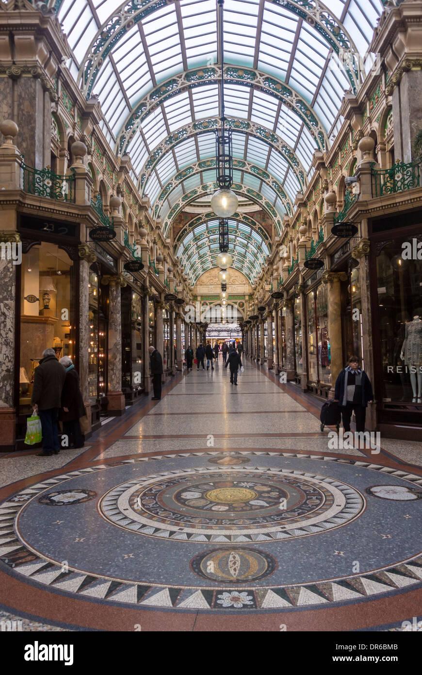 County Arcade, Victoria Quarter, Leeds. - Stock Image