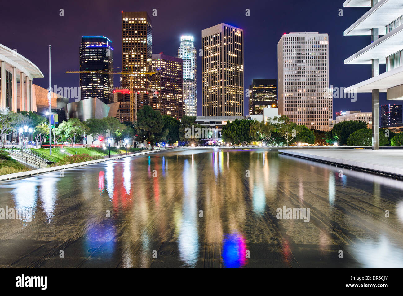 Los Angeles, California downtown skyline. - Stock Image