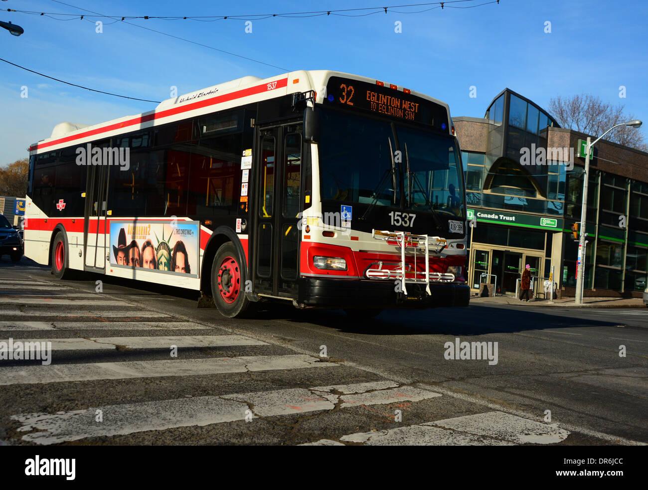 Public Transportation in Toronto, Canada - Stock Image