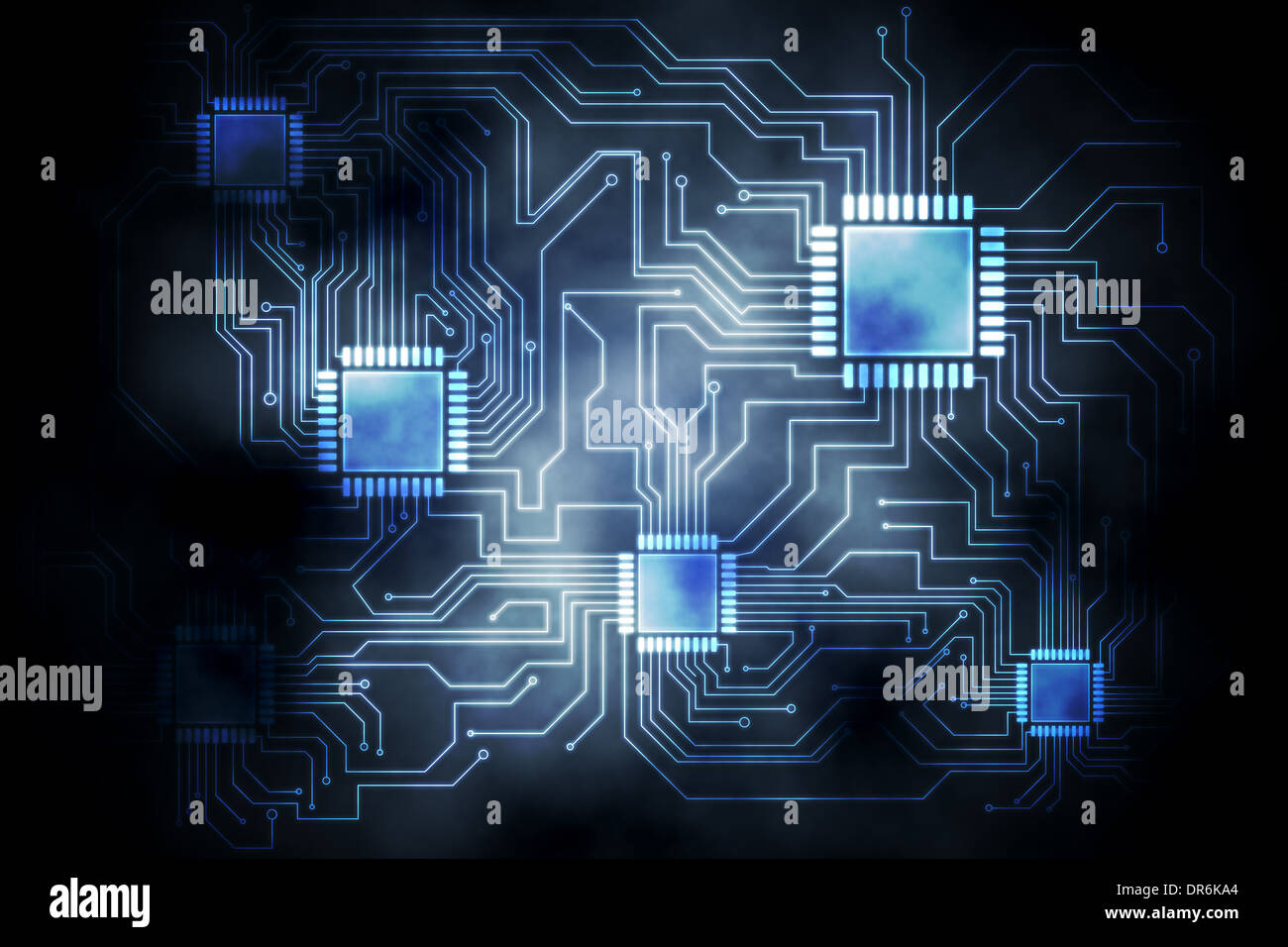 Circuit board graphic Stock Photo: 65915084 - Alamy