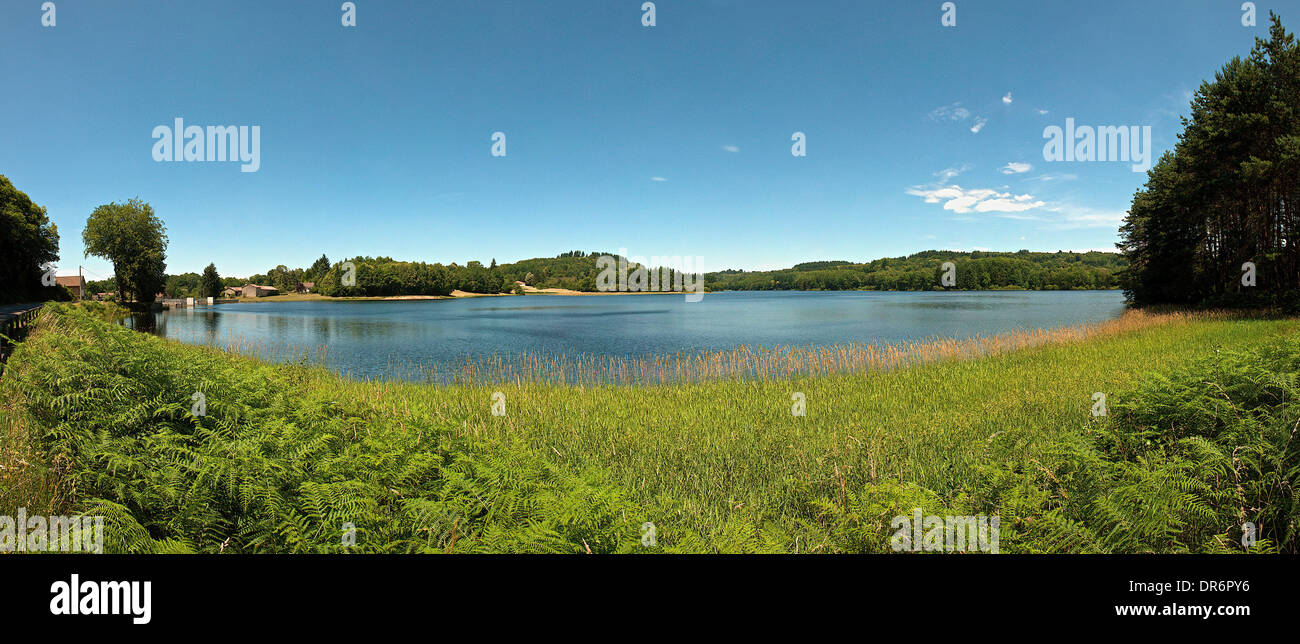 Limousin region in France - Stock Image
