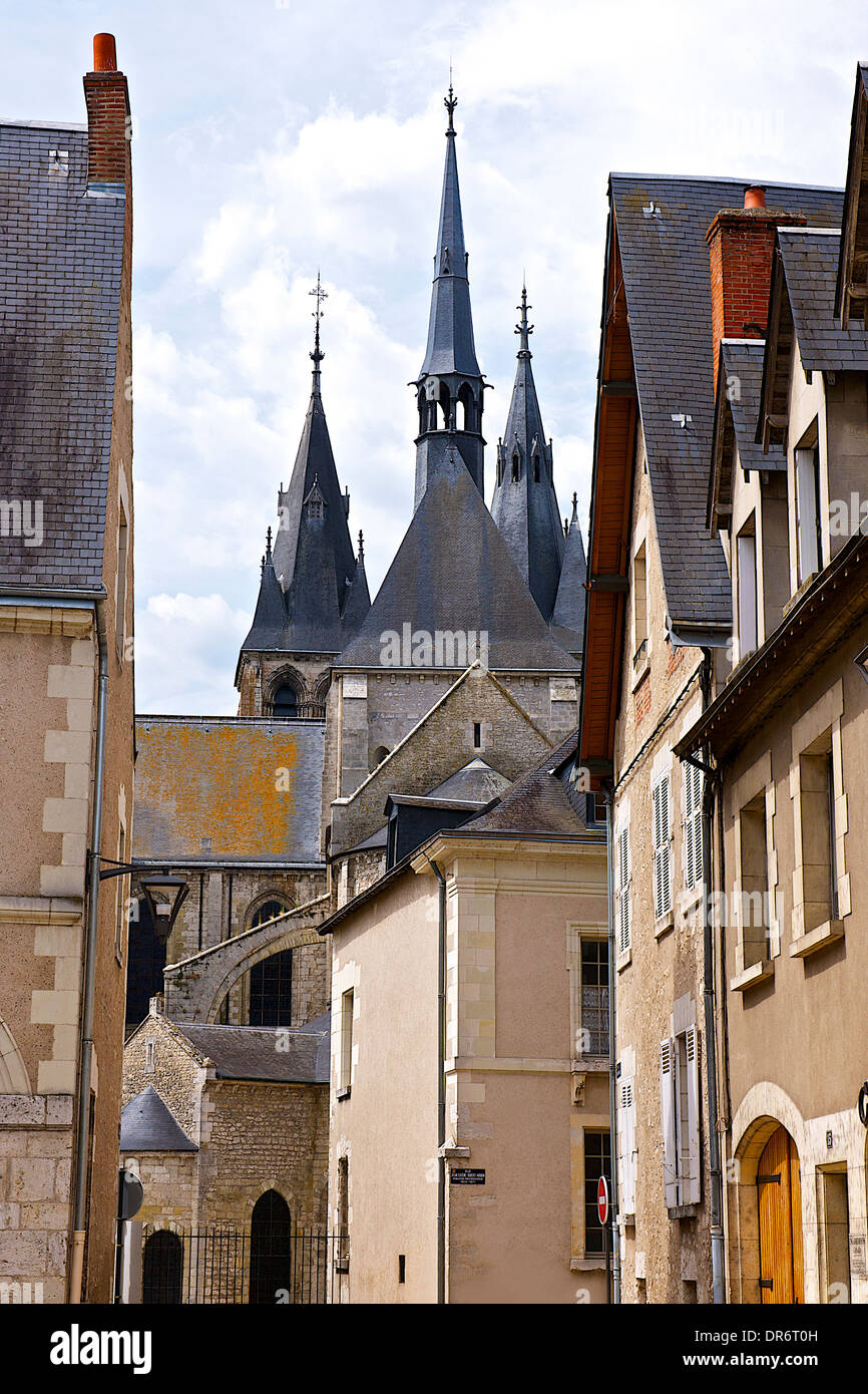 City of Blois, France - Stock Image