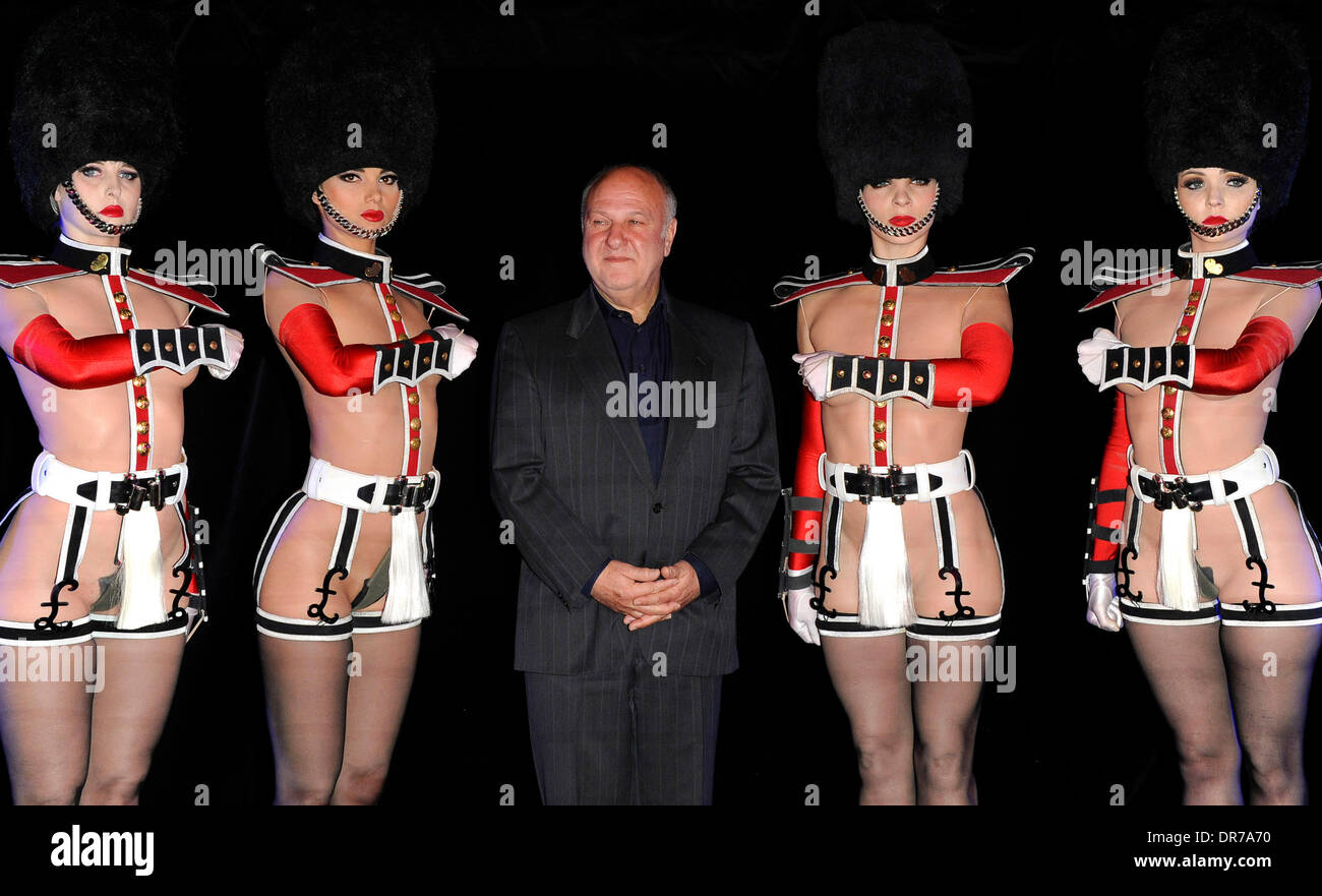 Harvey Goldsmith CBE with the cast Photocall for Le Crazy Horse de Paris - u0027Forever Crazyu0027 show held at The Arts Club London England - 12.06.12  sc 1 st  Alamy & Harvey Goldsmith CBE with the cast Photocall for Le Crazy Horse de ...
