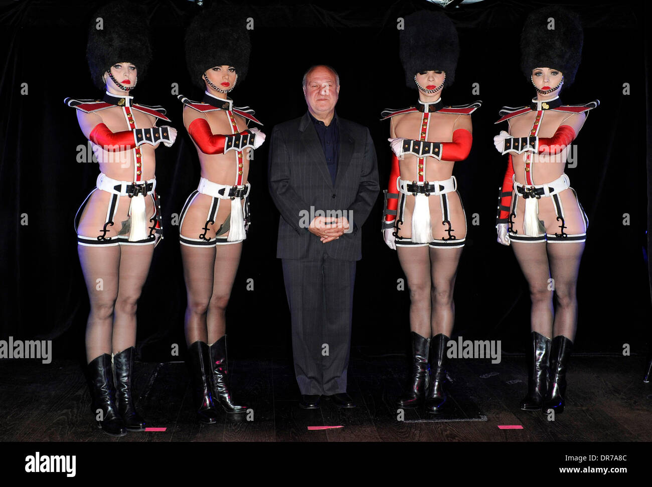 Harvey Goldsmith CBE with the cast Photocall for Le Crazy Horse de Paris - u0027Forever Crazyu0027 show held at The Arts Club London England - 12.06.12 & Harvey Goldsmith CBE with the cast Photocall for Le Crazy Horse de ...