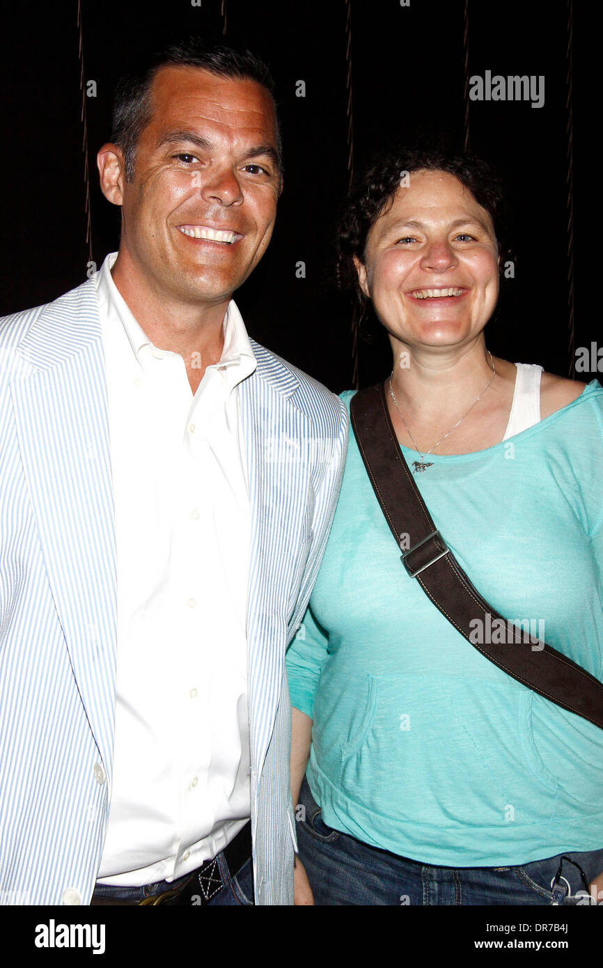 Adam Bock and Lucy Thurber The premiere after party for