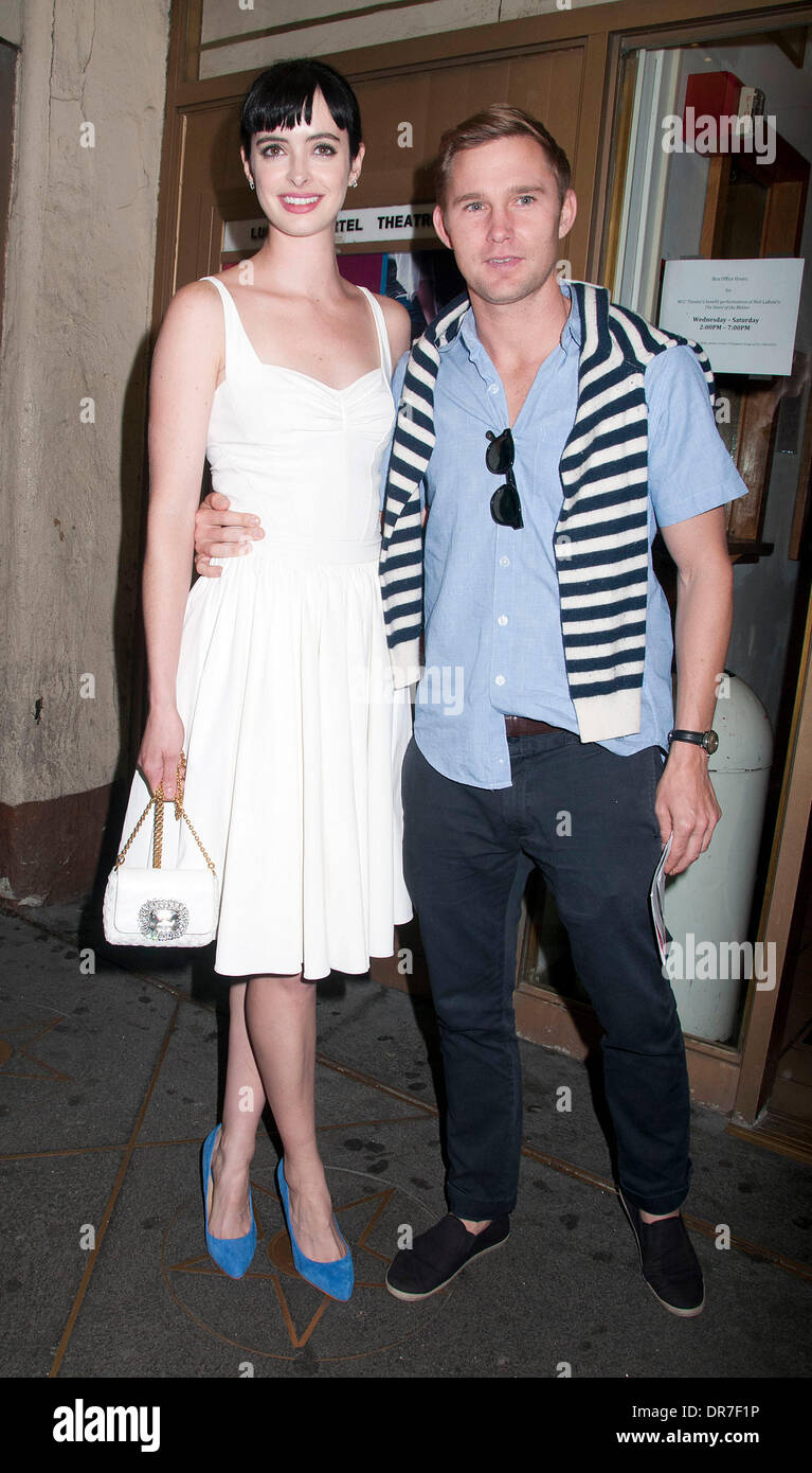 Krysten Ritter Brian Geraghty at the stage door of u0027The Heart of the Matteru0027 at the Lucille Lortel Theater New York City USA - 14.06.12  sc 1 st  Alamy & Krysten Ritter Brian Geraghty at the stage door of u0027The Heart of ...