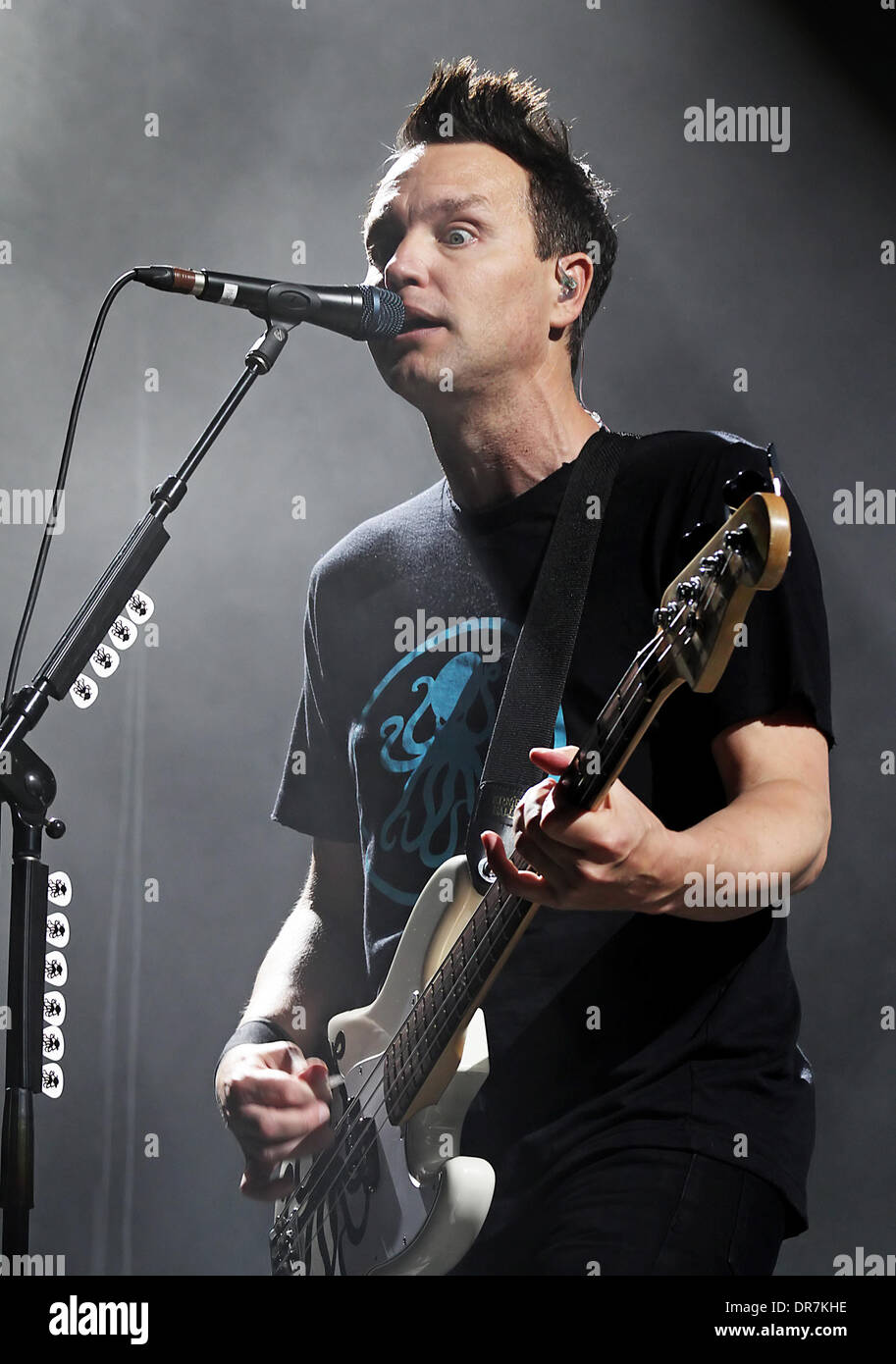 Blink 182 performing live at Manchester Evening News Arena