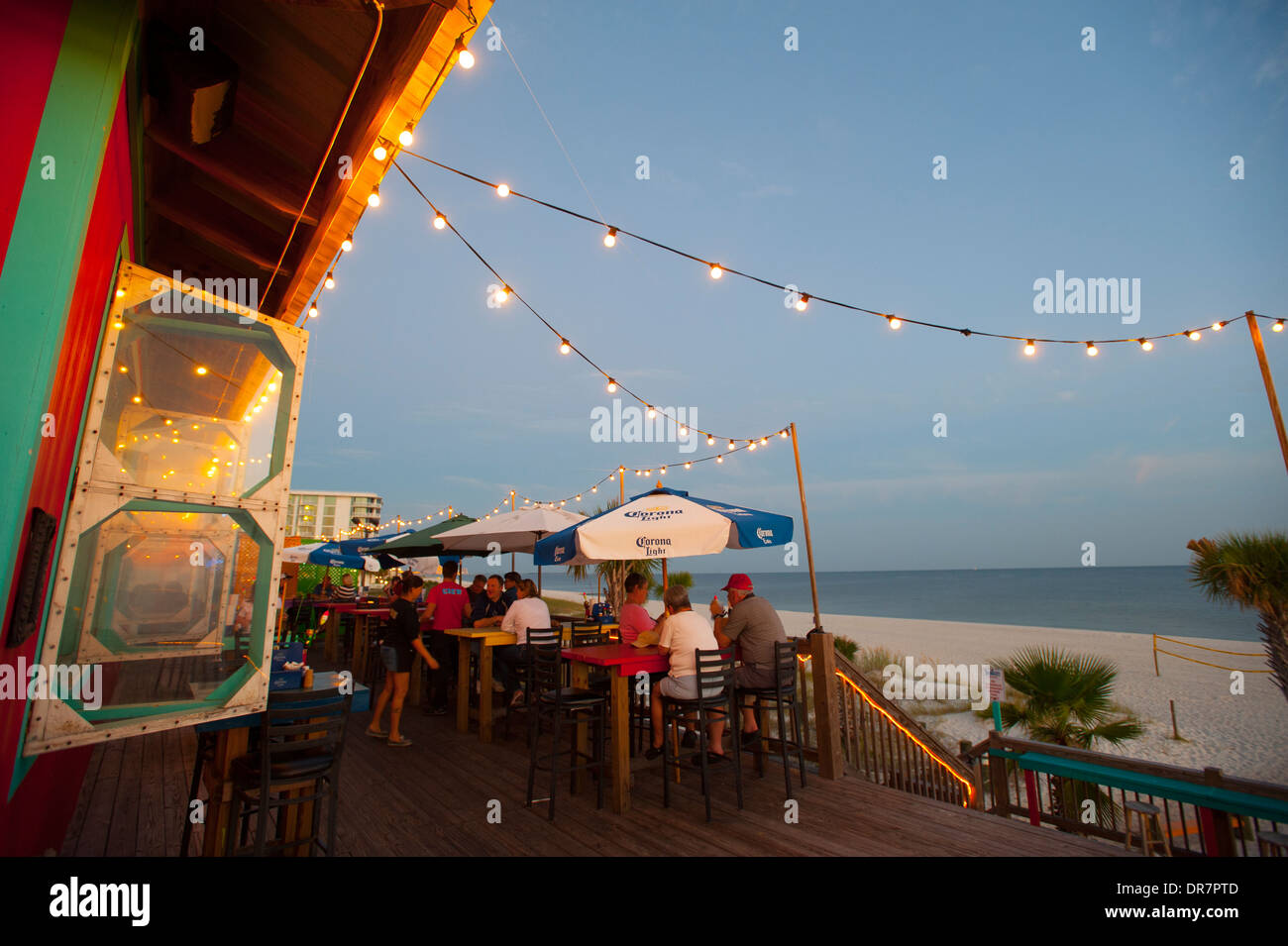 Usa Mississippi Ms Biloxi Shaggy S Biloxi Beach Bar And
