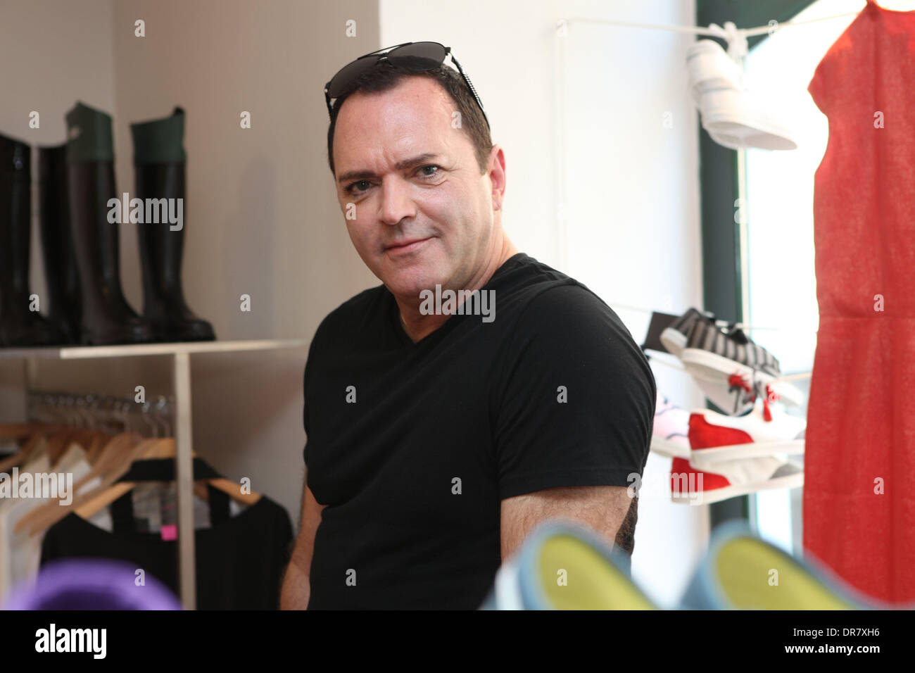 christopher ciccone visits the novesta showroom in prague ciccone