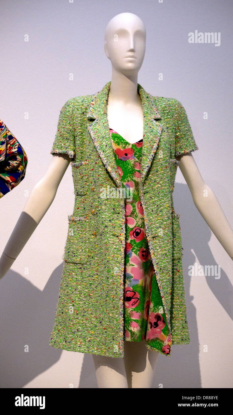 28539f5e487 Gabrielle Paris 1963 - 64 Suit by Coco Chanel 1883 – 1971 French fashion  designer