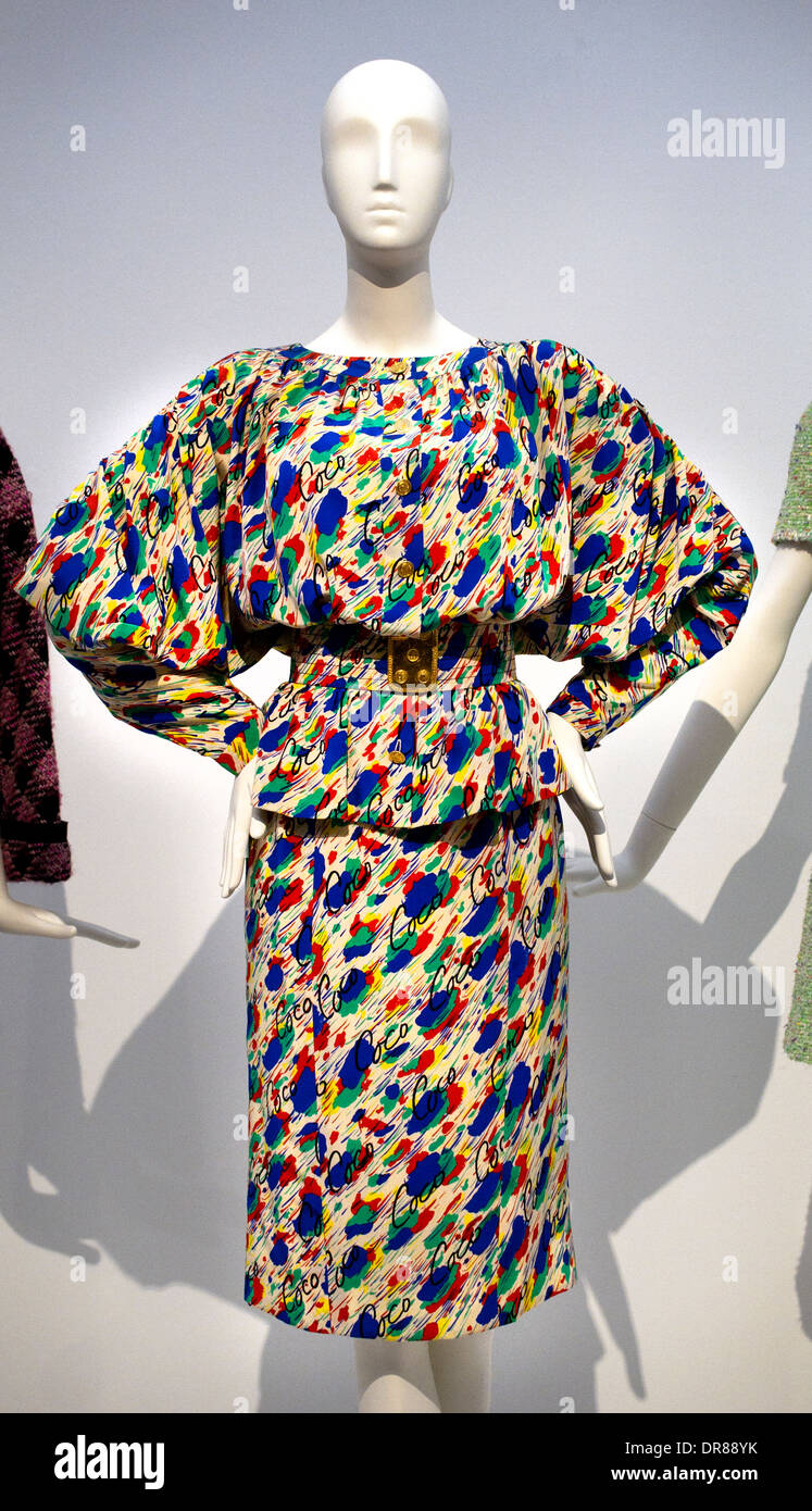 2460f55f96be1a Gabrielle Paris 1963 - 64 dress by Coco Chanel 1883 – 1971 French fashion  designer -