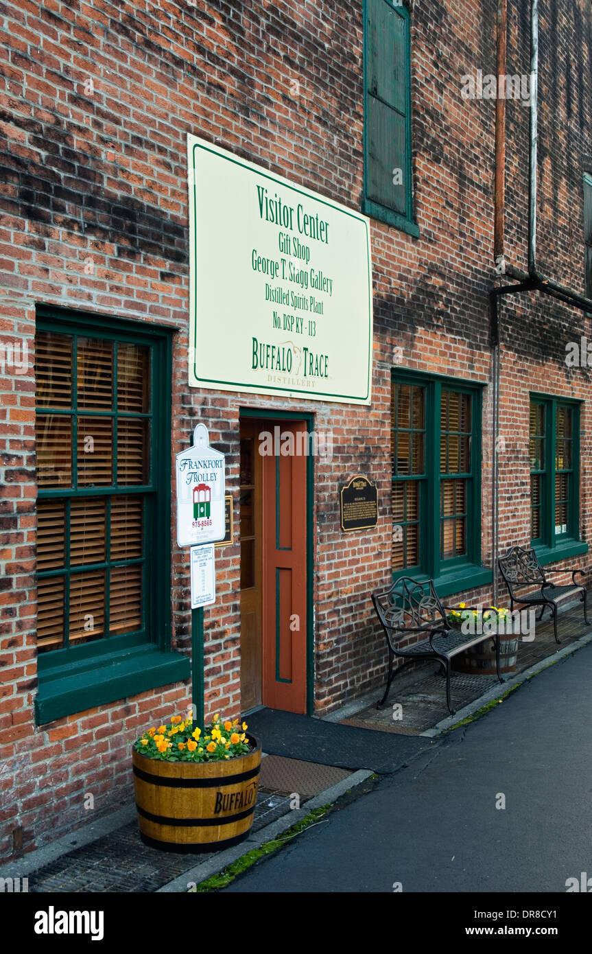 Buffalo Trace Distillery Visitor Center in Frankfort, Kentucky - Stock Image