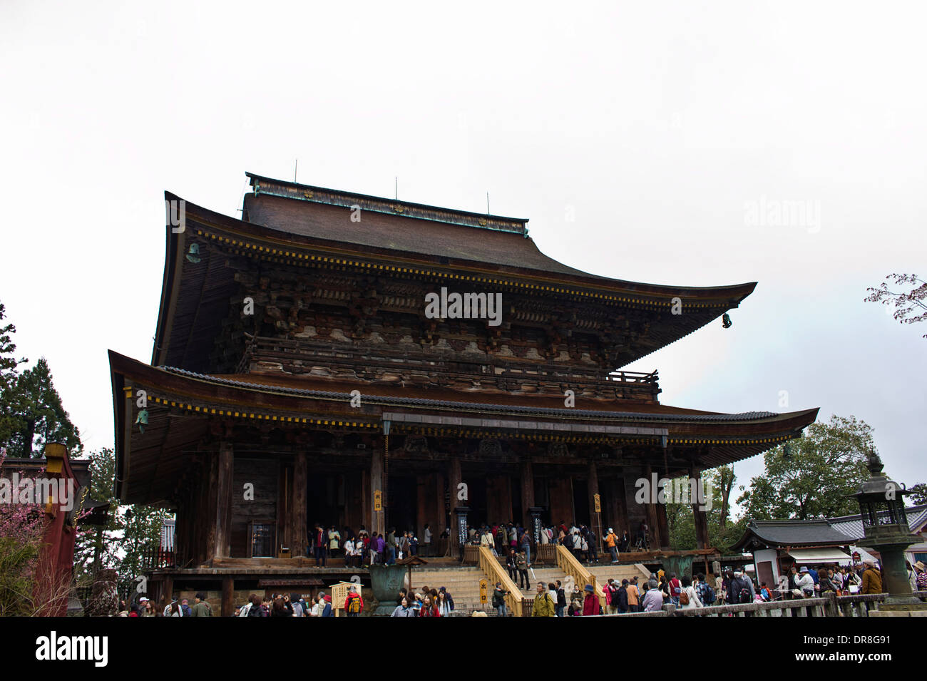 Kongozanji in Nara, Japan - Stock Image