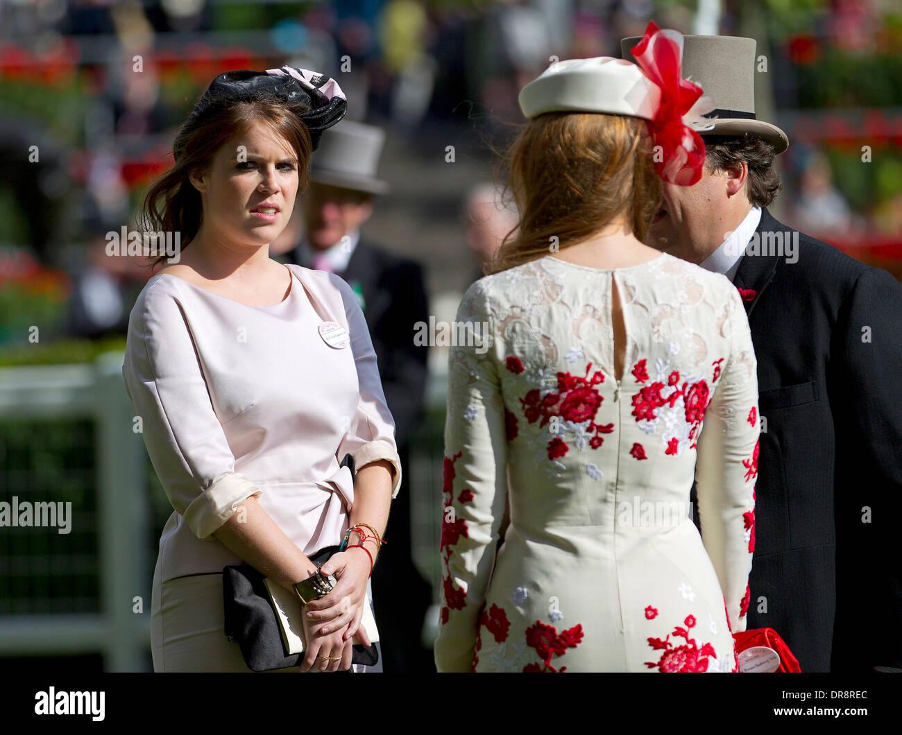 Princess Eugenie Of York And Princess Beatrice Of York Royal Ascot