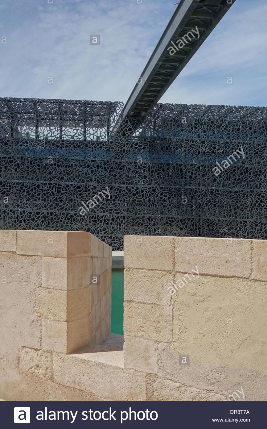 Marseille, MusÈe des civilisations de l Europe et de la MÈditerranÈe - Stock Image