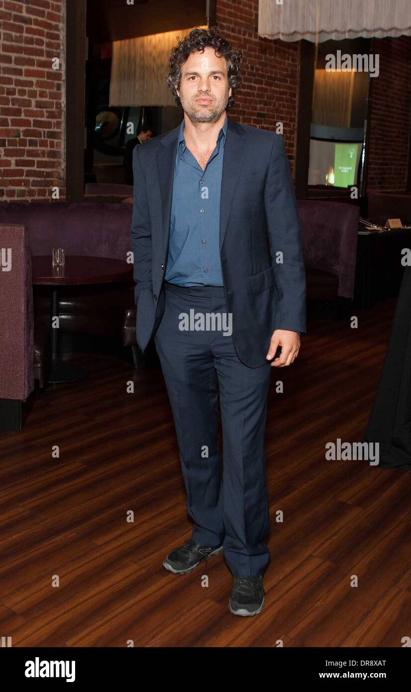 Mark Ruffalo attends the Empowered By Light event at Roe Nightclub San Francisco, California - 21.06.12 Stock Photo