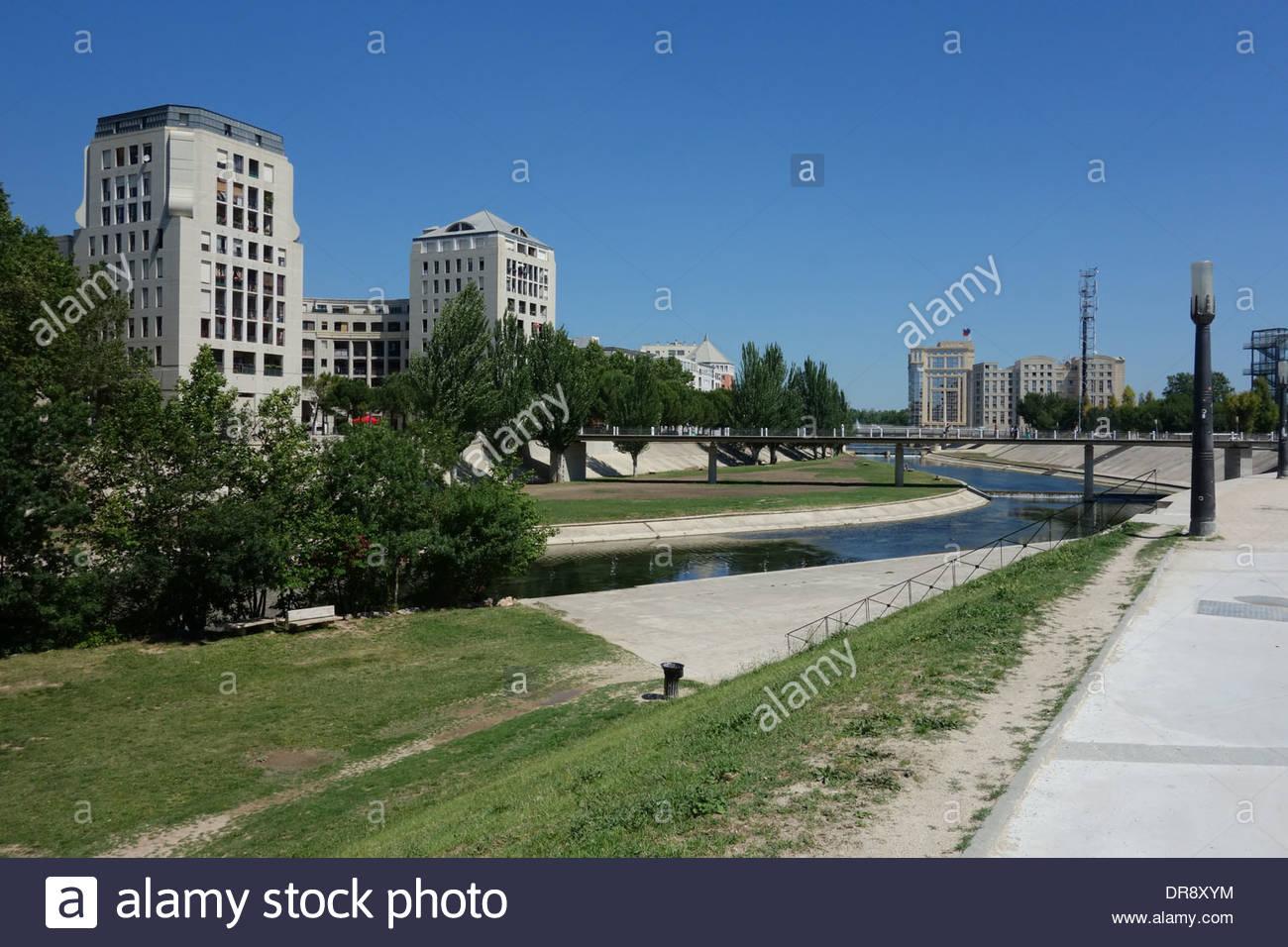 Montpellier Moderne Architektur Architecture Stock Photos ...