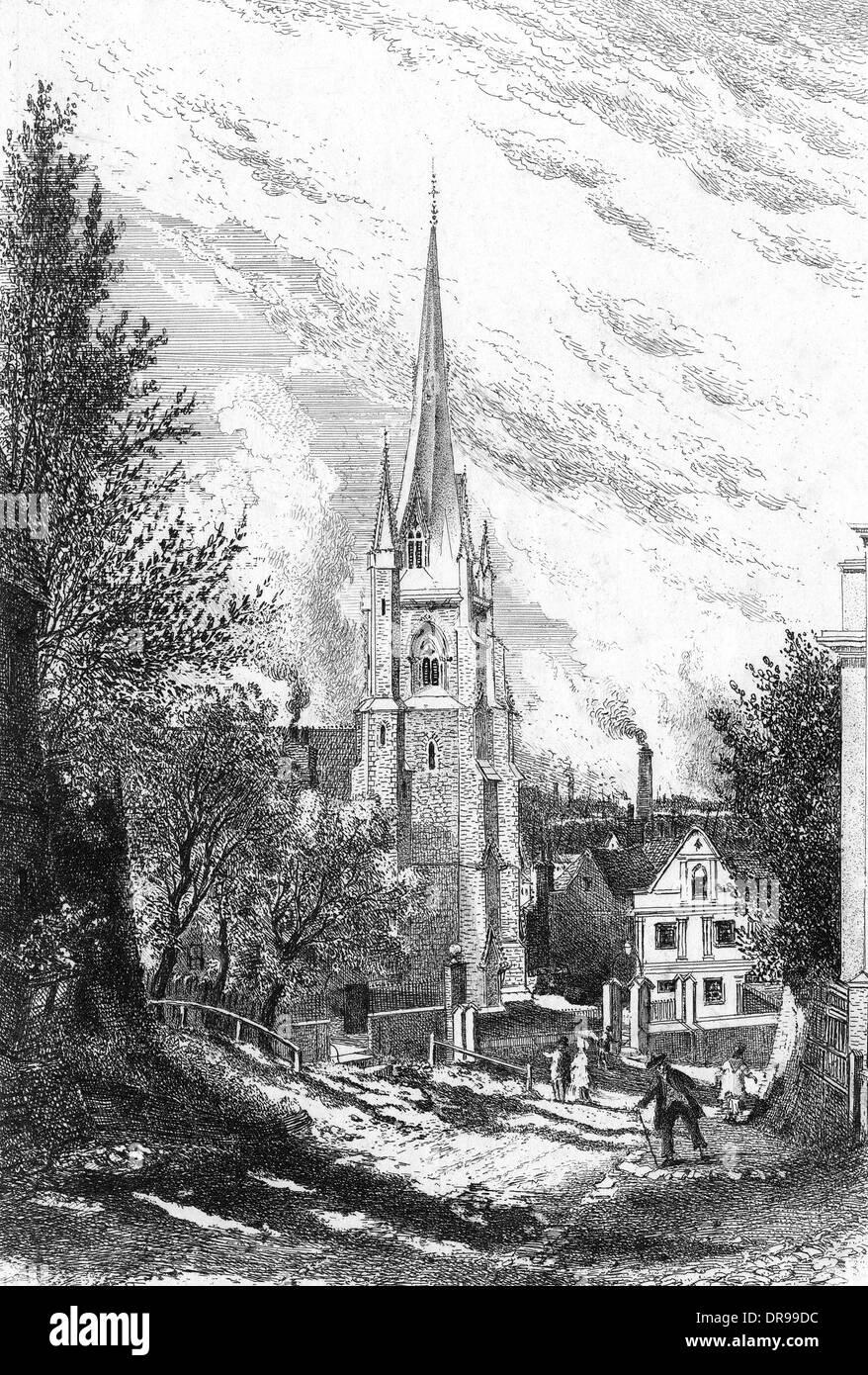 ST MARY'S CHURCH - Stock Image