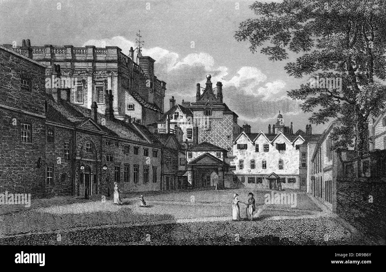 SCOTLAND YARD 1808 - Stock Image