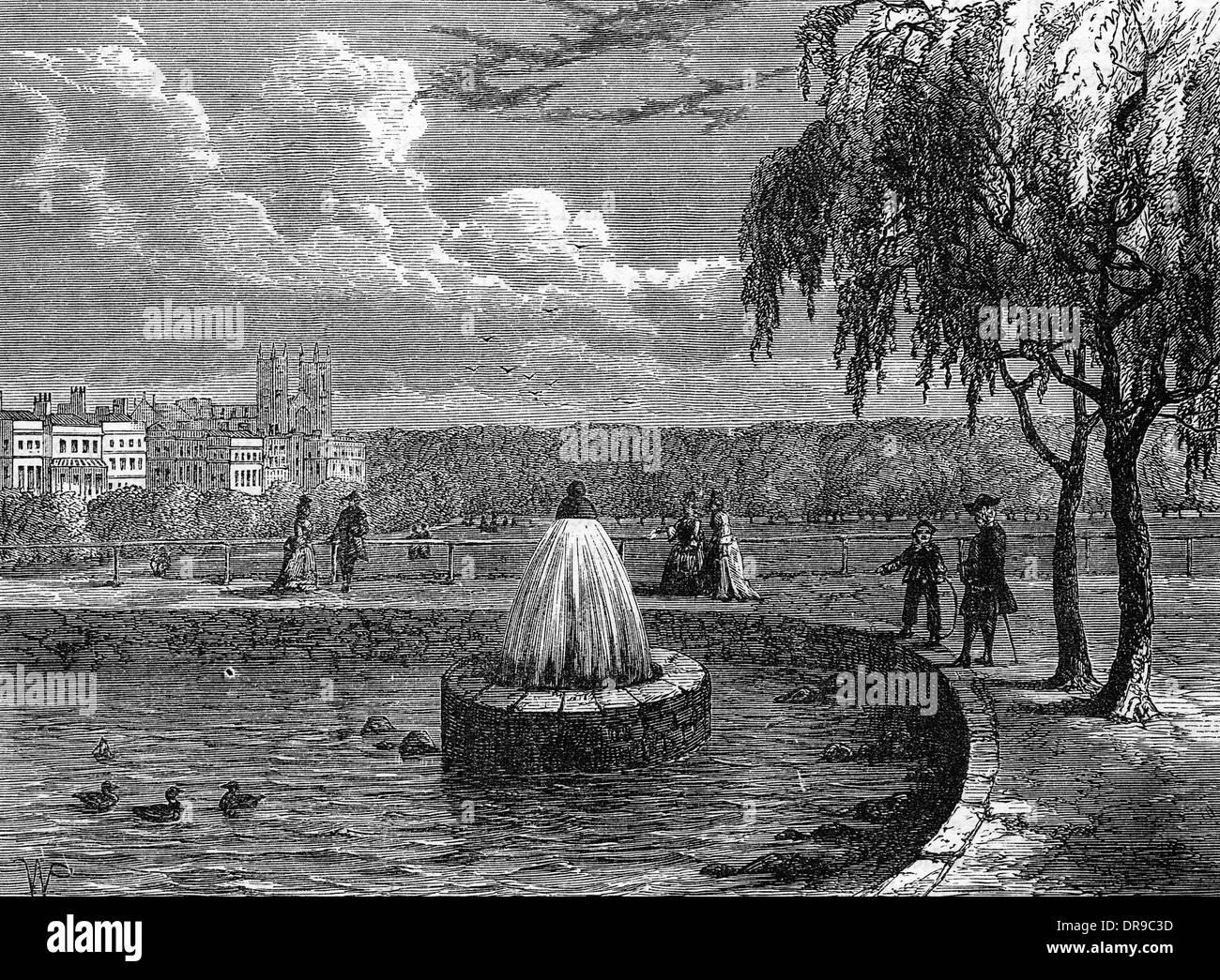 GREEN PARK 1808 - Stock Image