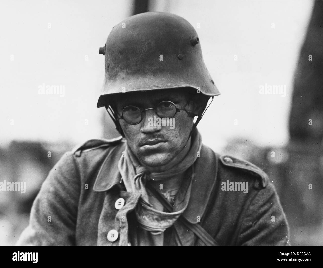 Soldier on the Western Front - Stock Image