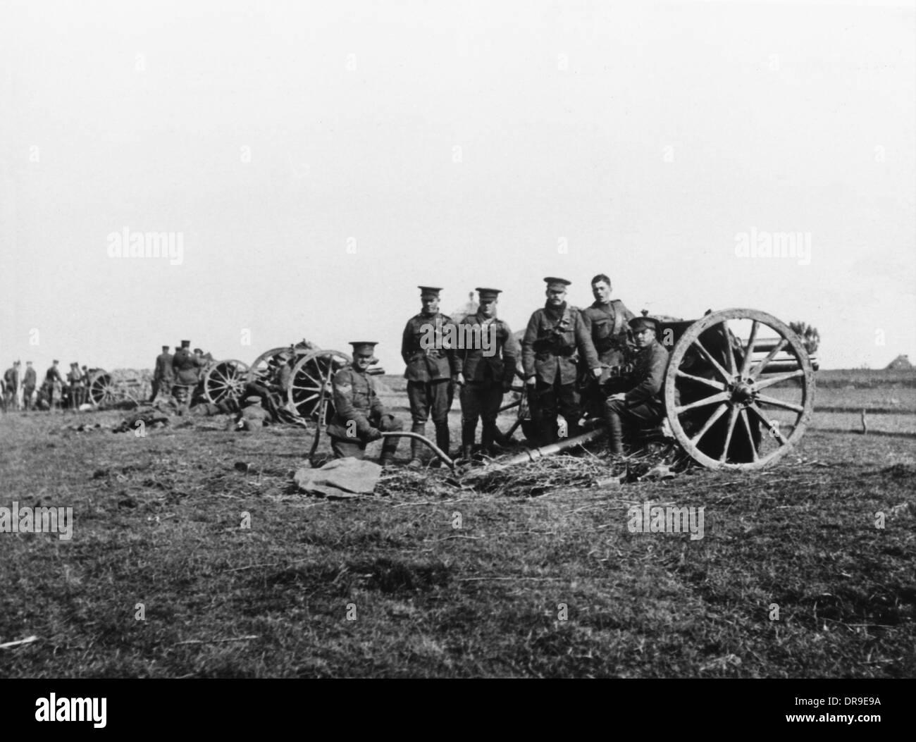 J Battery RHA 1914 - Stock Image