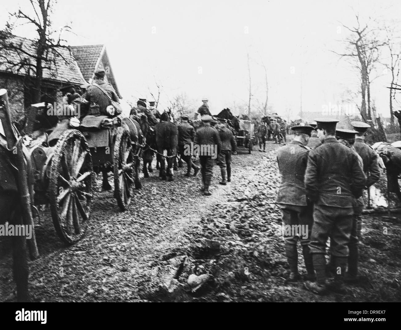 Troop transport 1915 - Stock Image