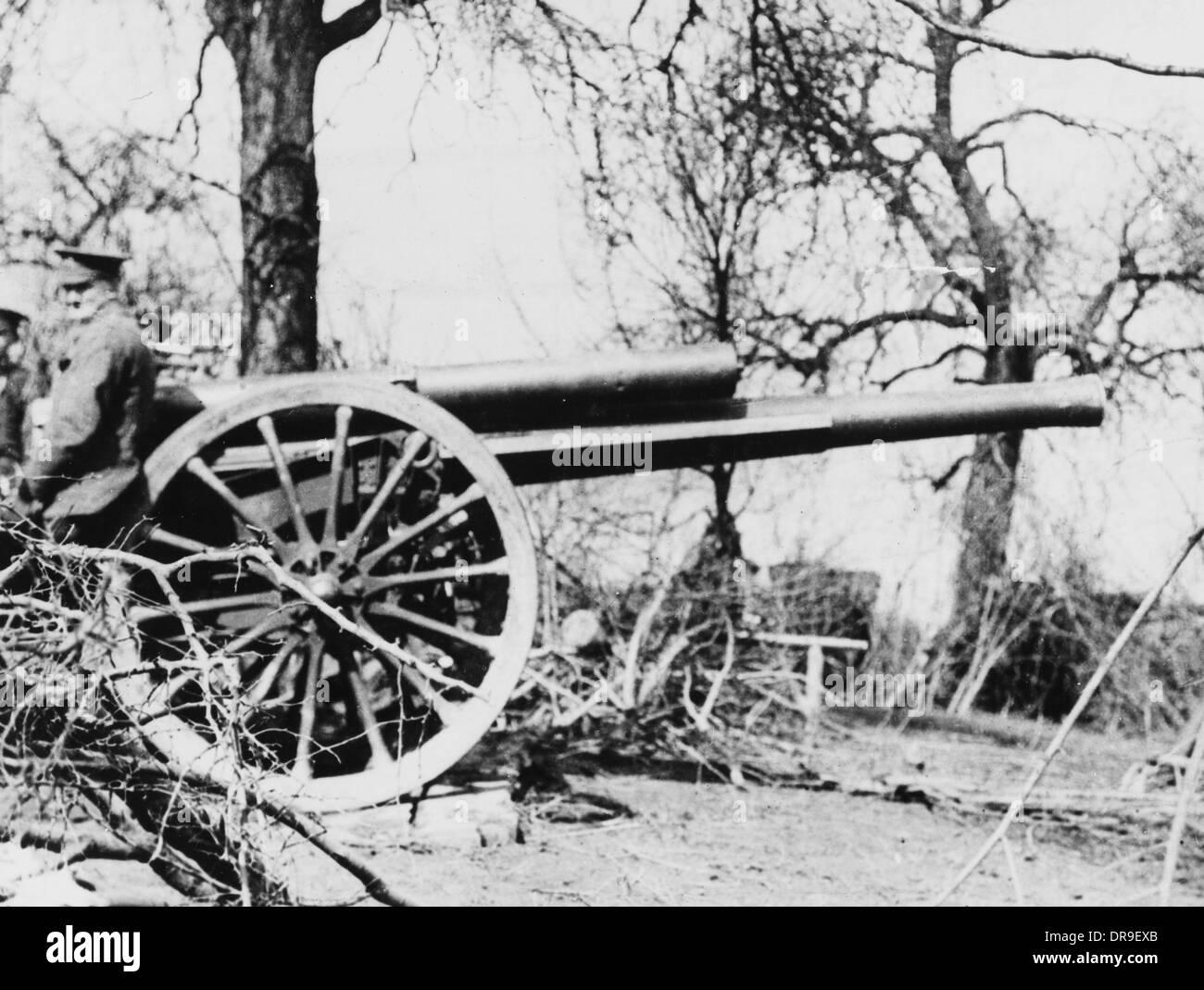 60 pounder 1915 - Stock Image