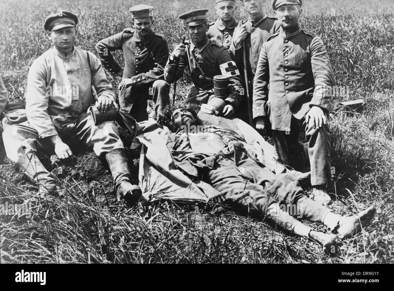 Bellecourt 1917 - Stock Image