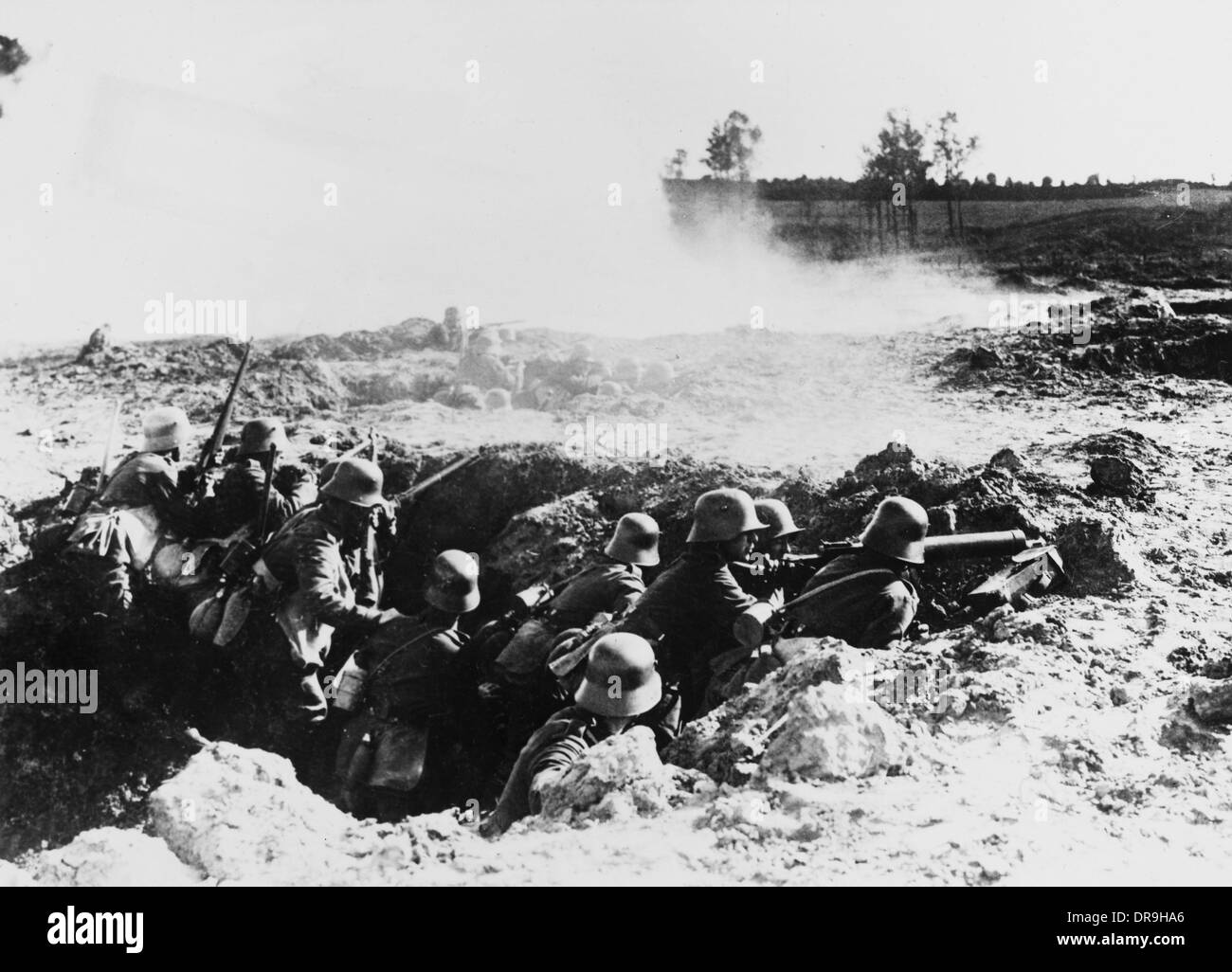 Western Front 1918 - Stock Image