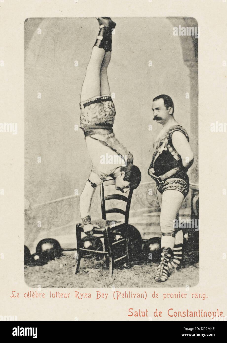Turkish Wrestler (4 of 4) - Stock Image