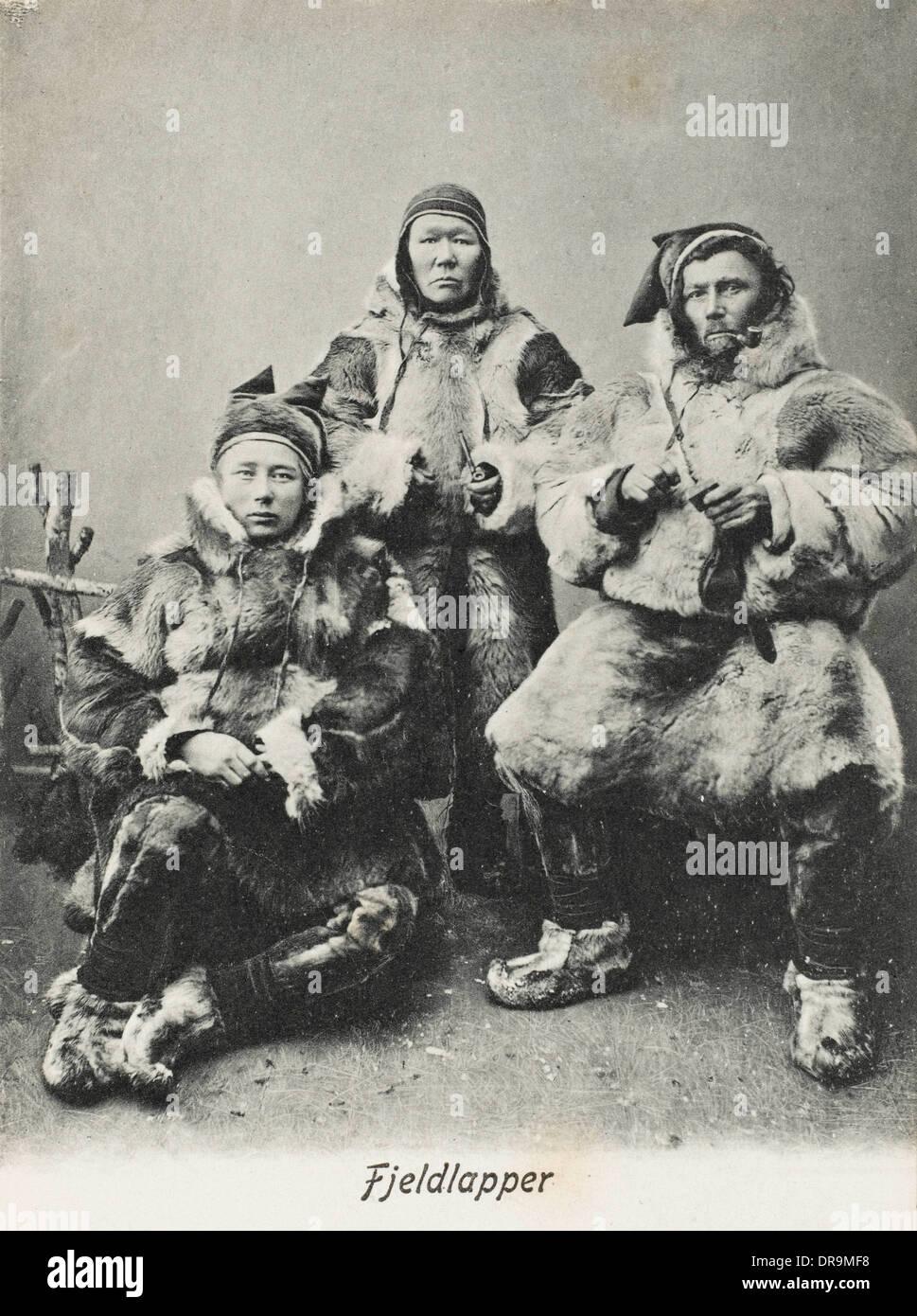 Laplanders - Norway - Stock Image