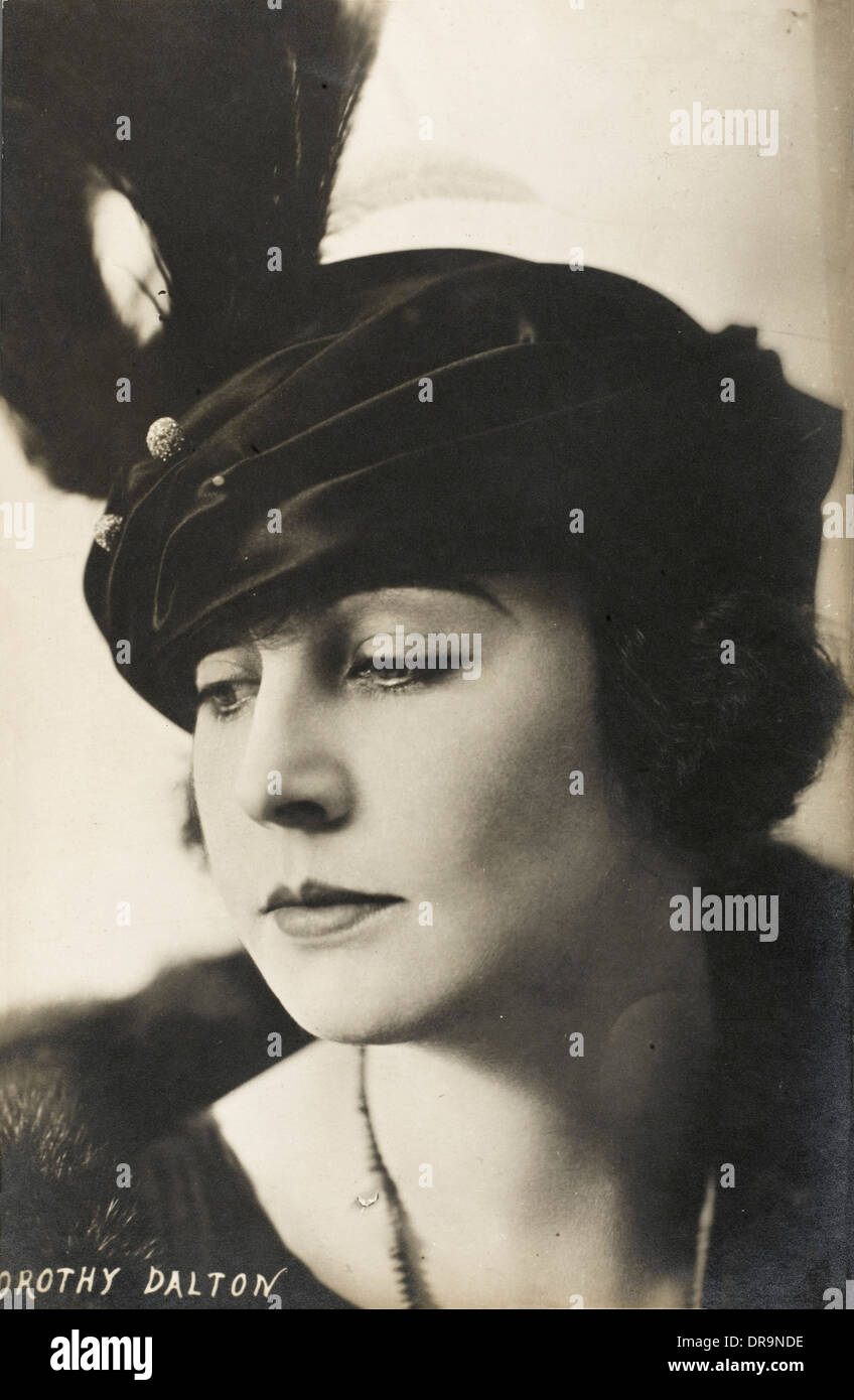 Dorothy Dalton - Silent Movie Star - Stock Image