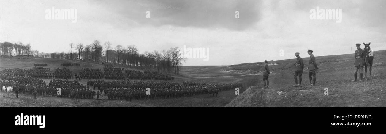 150 Infantry Brigade, 1917 - Stock Image