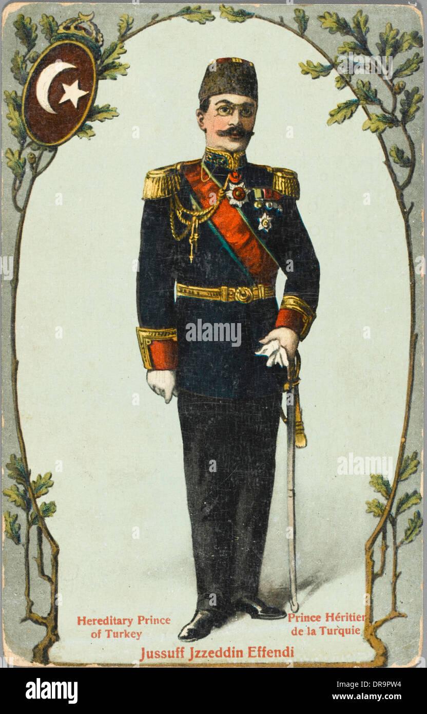 Prince Sehzade Yusuf Izzeddin Effendi - Stock Image