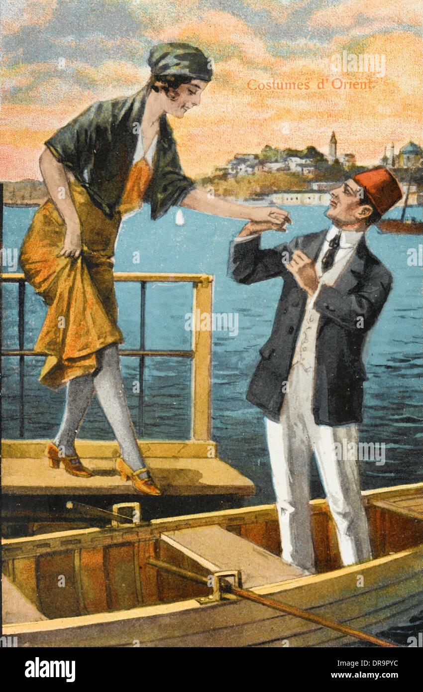 Etiquette 1920s Stock Photos & Etiquette 1920s Stock Images