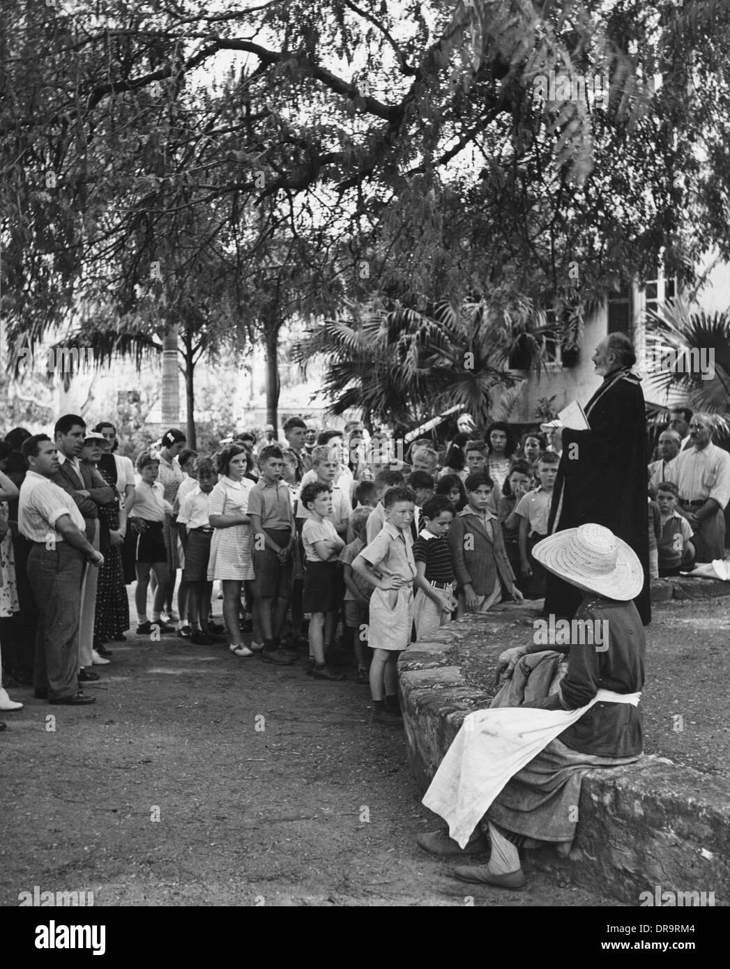 World War II evacuees - Stock Image